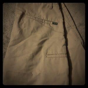 Volcom khaki shorts w29